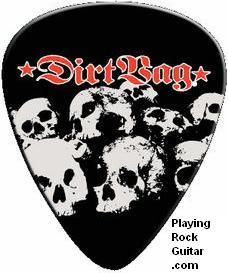 Rocky Guitar pick