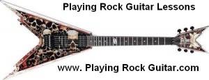 Skull Rock Guitar